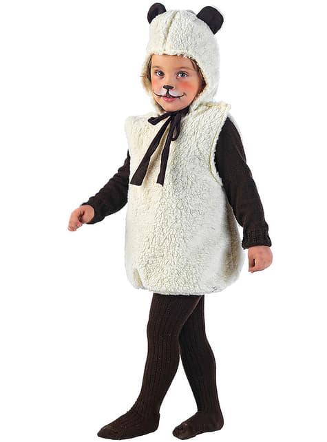 Fato de animalzinho ovelhinha para bebé