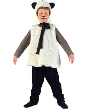 Costum de animăluț oiță pentru fată