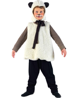 Little Lamb Girl Kids Costume