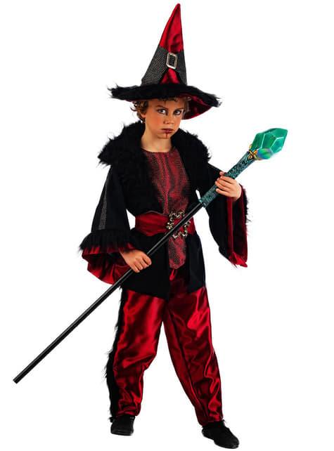 Fato de bruxo para menino