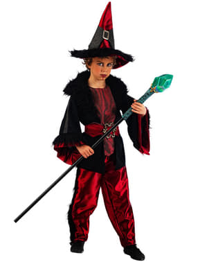 Charming Warlock Kids Costume