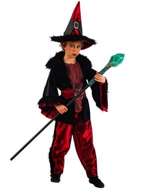 Sjarmerende Warlock Kostyme Barn