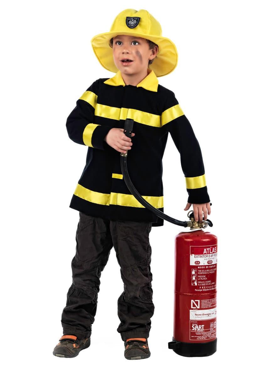 costume de m tiers pour enfant pompier acheter en ligne sur funidelia. Black Bedroom Furniture Sets. Home Design Ideas