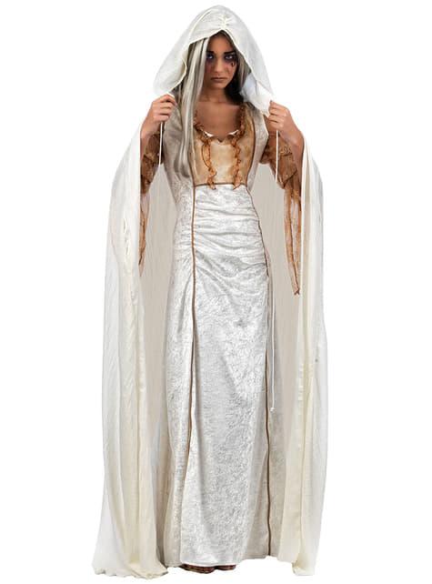 Witte cape
