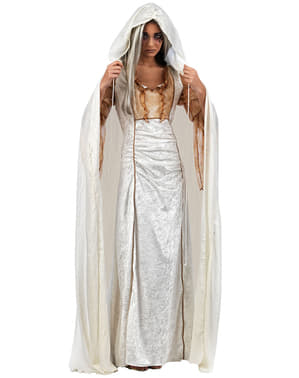 White cape for adults
