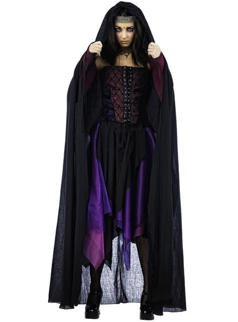Svarte Hekser Kappe til Damer