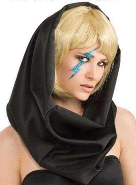 Naklejka błyskawica niebieska Lady Gaga