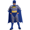 Disfraz de Batman the Brave and the Bold musculoso niño en caja
