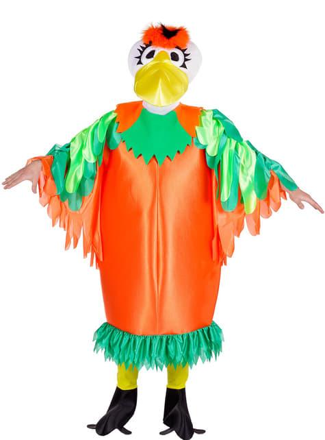 Tropisch vogelkostuum