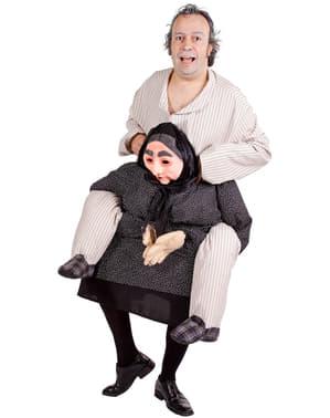 Costume Ride On da vecchietta