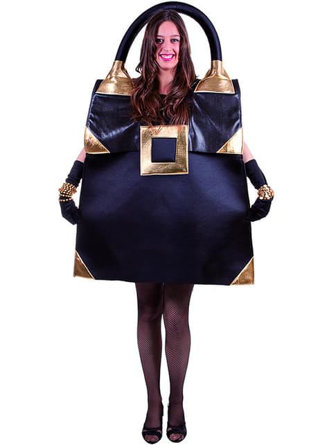Strój czarna torebka