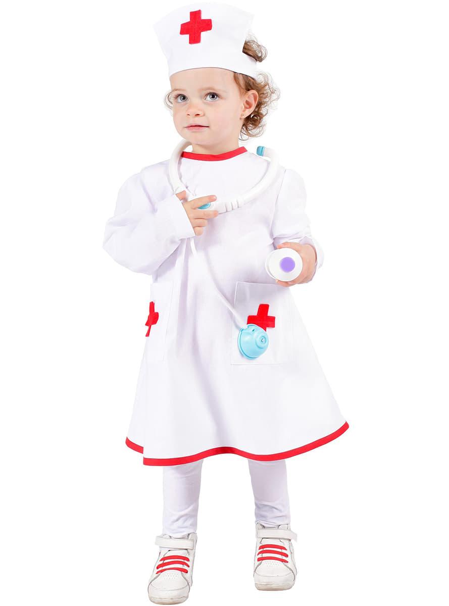Kinderkostum Krankenschwester 24h Versand Funidelia
