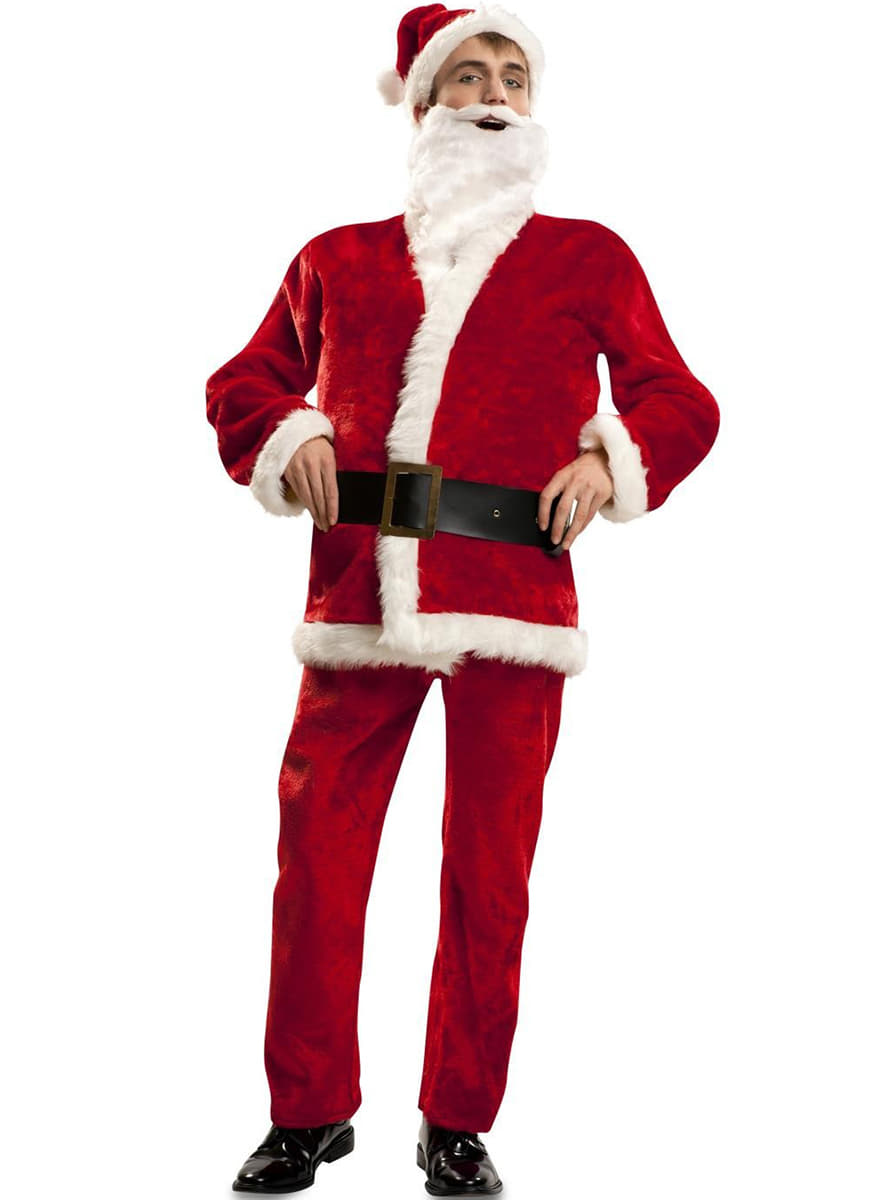 f2dfa247be Luxury Father Christmas Costume For Adults. Detalle Zoom Sc 1 St Funidelia