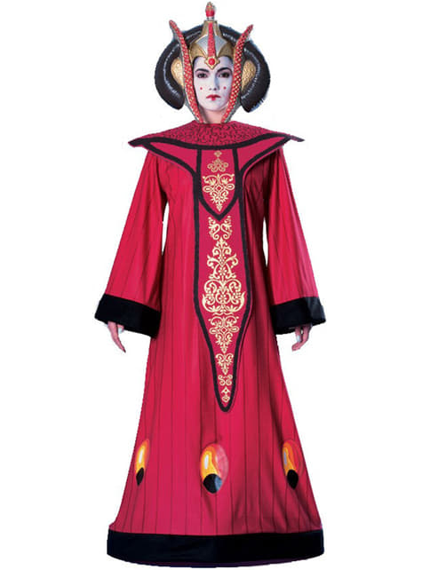 Deluxe dronning Padme Amidala kostyme voksne