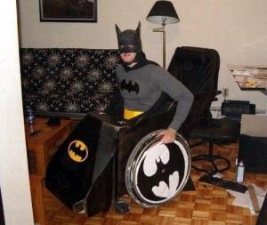 Disfraz batman silla ruedas
