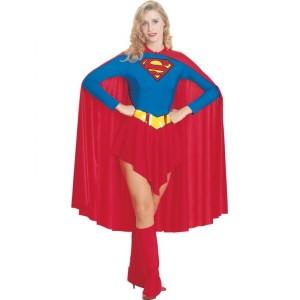Disfraz de Supergirl capa larga - Funidelia