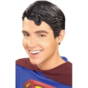 Peluca de Superman de Vinilo - Funidelia