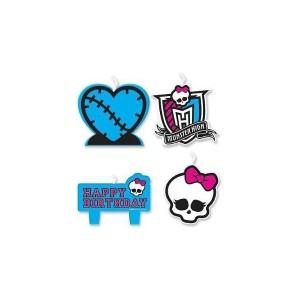 Velas cumpleaños Monster High - Funidelia