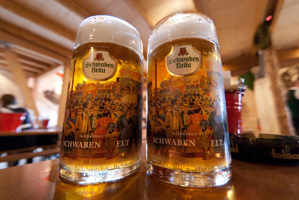 Oktoberfest Bier Schwaben Bräu