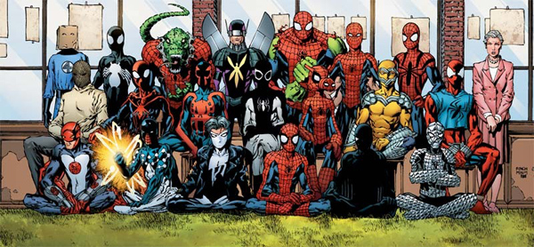 L'histoire du costume de spiderman