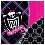 Servietten Set Monster High