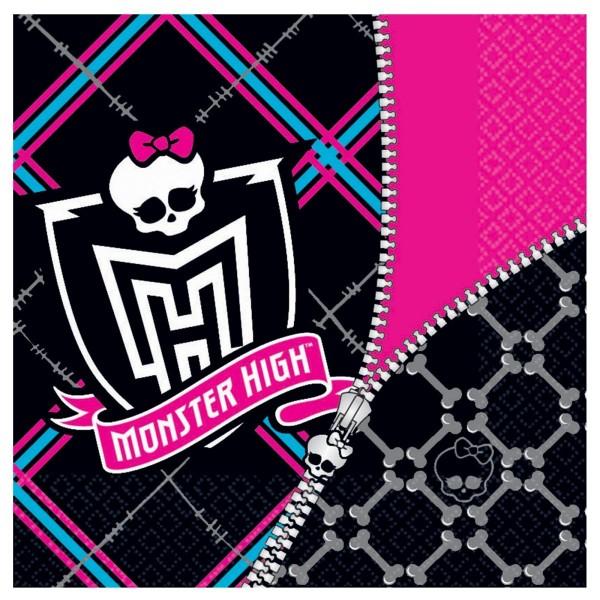 Servietten Set Monster High