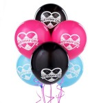 Set Luftballons Monster High