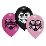 Set Luftballons Monster High Geburtstag