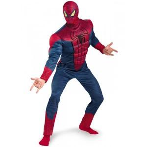 Kostüm Amazing Spiderman Muskeln