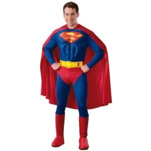 Superman Kostüm mit Muskeln