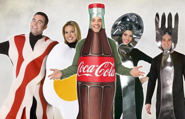 Les meilleurs costumes d'aliments et boissons