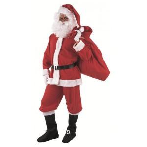 weihnachtsmann kost m und santa claus treffen sich. Black Bedroom Furniture Sets. Home Design Ideas