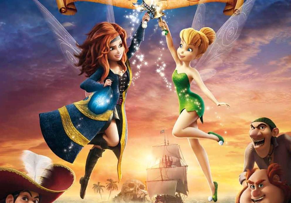 Le nouveau film Clochette et la fée Pirate