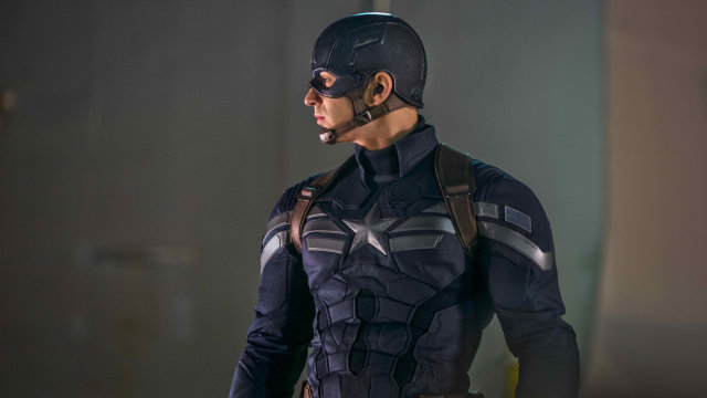 "Le costume dans ""Winter Soldier"""