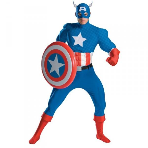 Choisir votre d guisement captain america version cin vs comic id es de d guisements - Masque de captain america ...