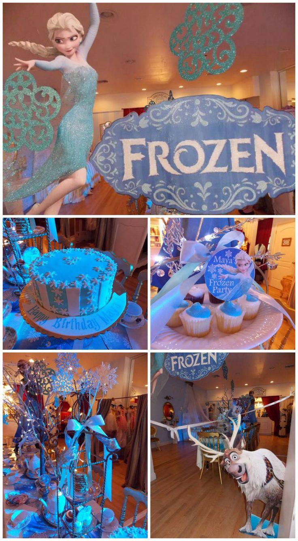 decoracin fiesta cumpleaos frozen