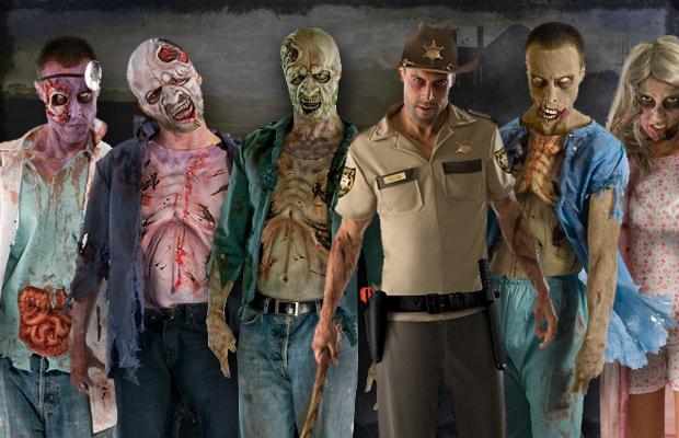 Cómo crear un disfraz de zombi: 17 pasos (con fotos)