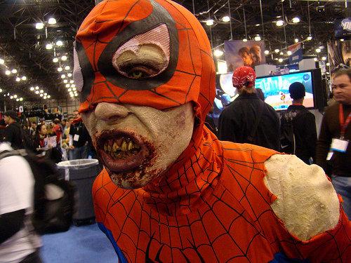 disfraz-spiderman zombie