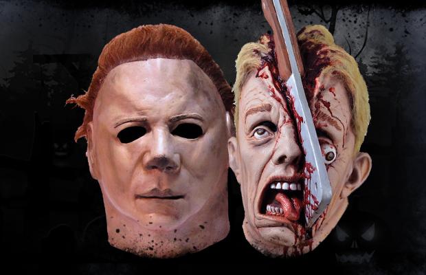 halloween masken von trick or treat und ghoulish der. Black Bedroom Furniture Sets. Home Design Ideas