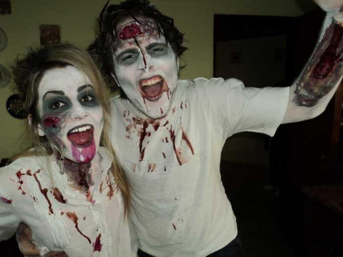 disfraces de halloween caseros zombie