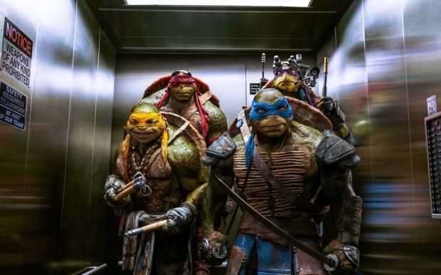 les nouveaus costumes de tortues ninja