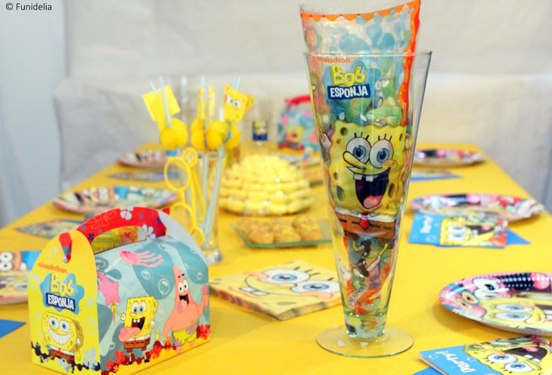 Fiesta Cumpleaños Bob Esponja Mejores Ideas Y Decoración