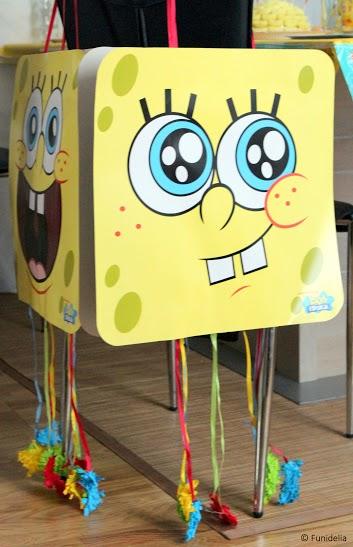 Fiesta comuni n tem tica ideas de comuniones originales ideas para disfrazarse - Decoracion bob esponja ...
