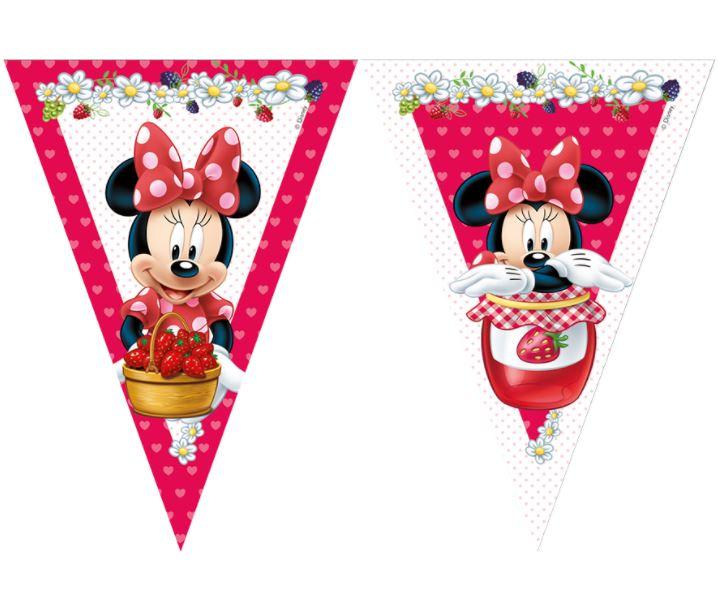 Banderines Minnie rojos