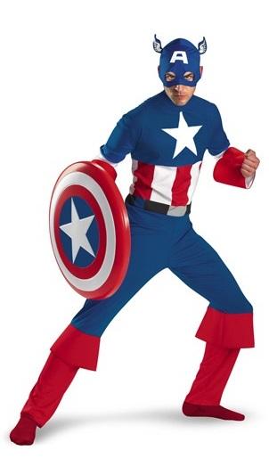 disfraz de capitan america classic