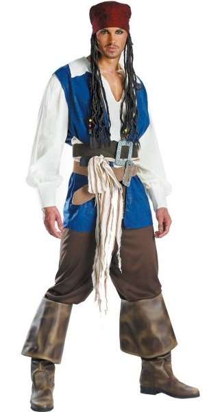 disfraz de capitan jack sparrow