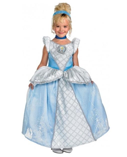Fiesta de Halloween Disfraz-de-la-cenicienta-prestige-para-nina