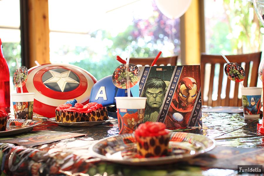 Fiesta cumplea os vengadores ideas para superheroes - Actividades cumpleanos adultos ...
