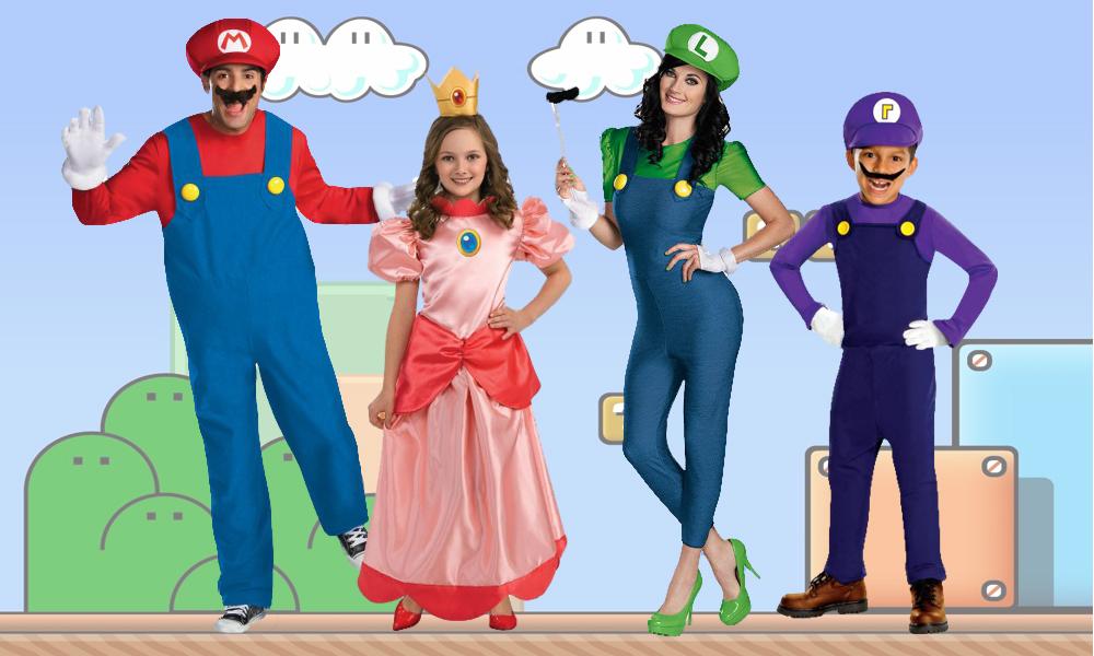 disfraces Mario Bros