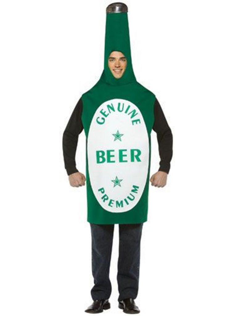 Disfraz de Botellín de Cerveza